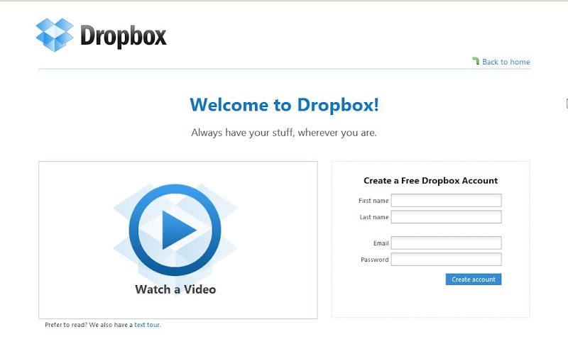 DropBox Register DropBox Sync, Plugin Yang Sangat Dahsyat