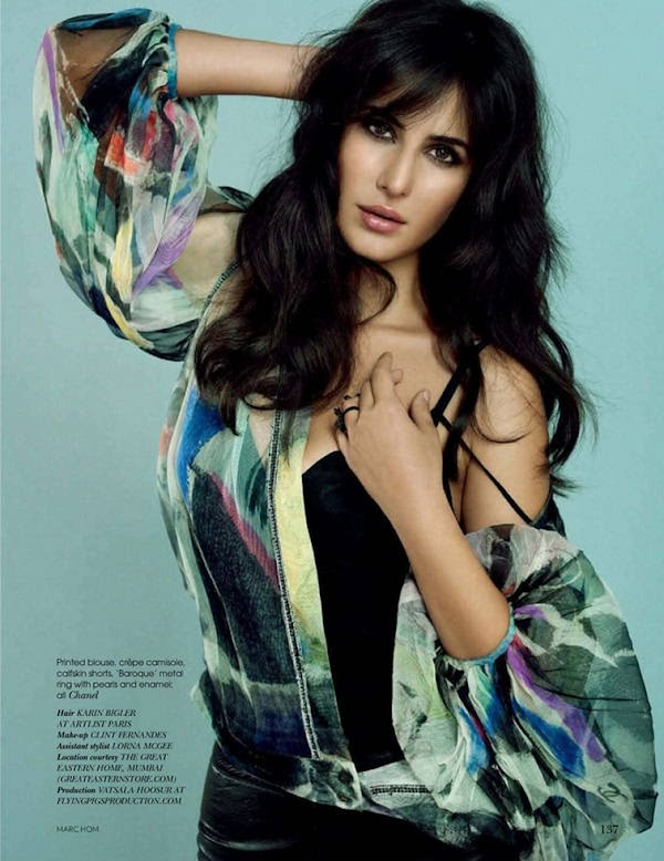 Katrina Kaif Vogue India (May 2011):Glamour,fashion girl
