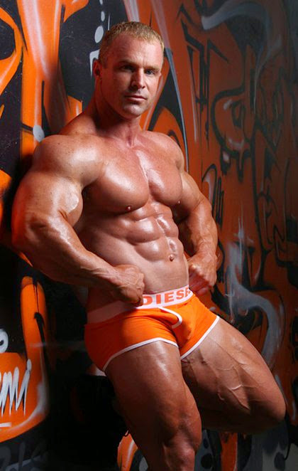 Mega Muscle to be Worshipped