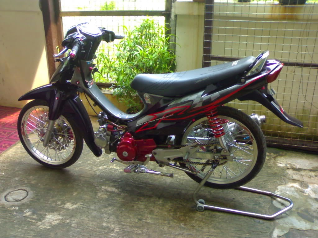 Suzuki Shogun 110 R Modifikasi