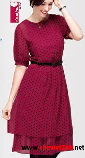 Váy thời trang Sophie Primerose - DPMRS, DPMRM, DPMRL, DPMRXL
