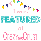 Featured on Crazy for Crust