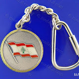 (لبنانيات: علم لبنان (6 Lebanese Icons: Flag of Lebanon Size: 35 mm