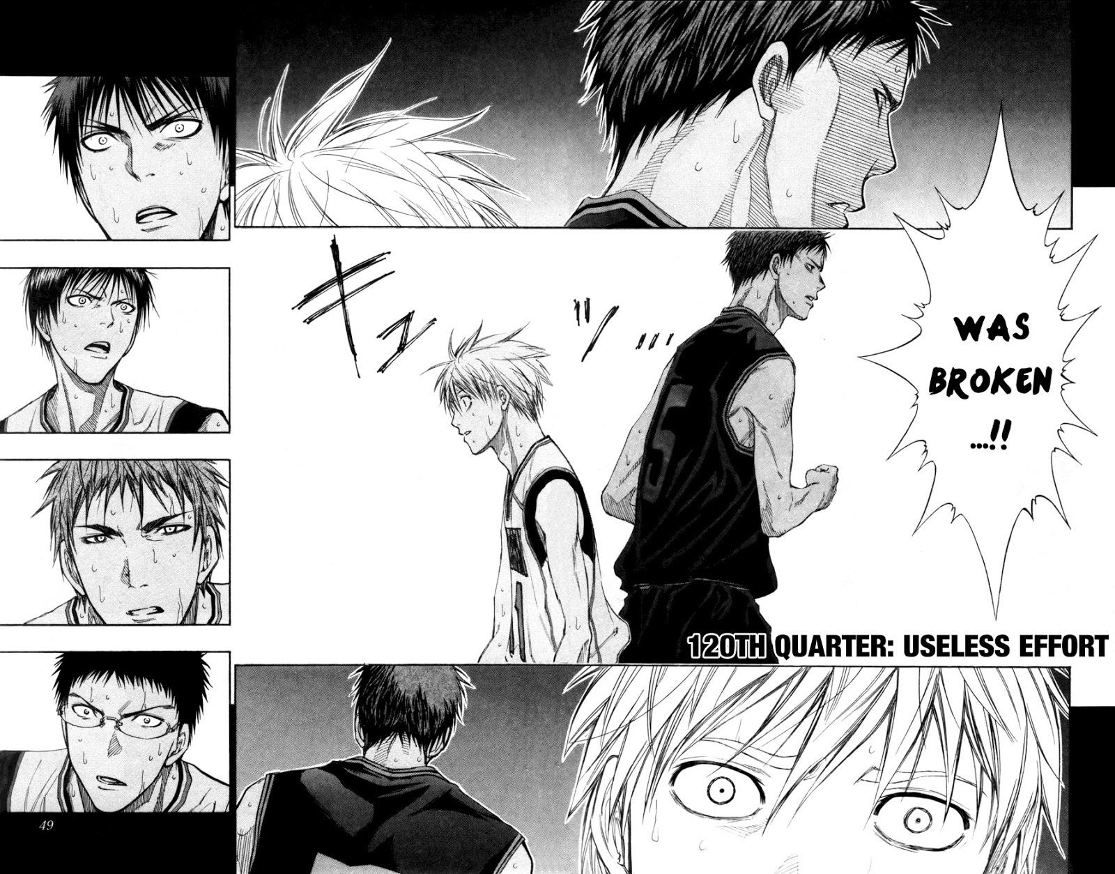 Kuroko no Basket Manga Chapter 120 - Image 002-03