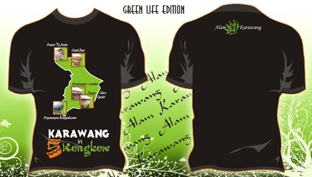 Kaos 01 Alam Karawang