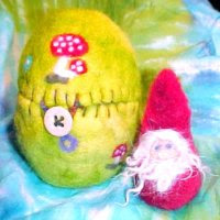 Newly Hatched Gnome - Great Stocking Stuffer - FREE shipping