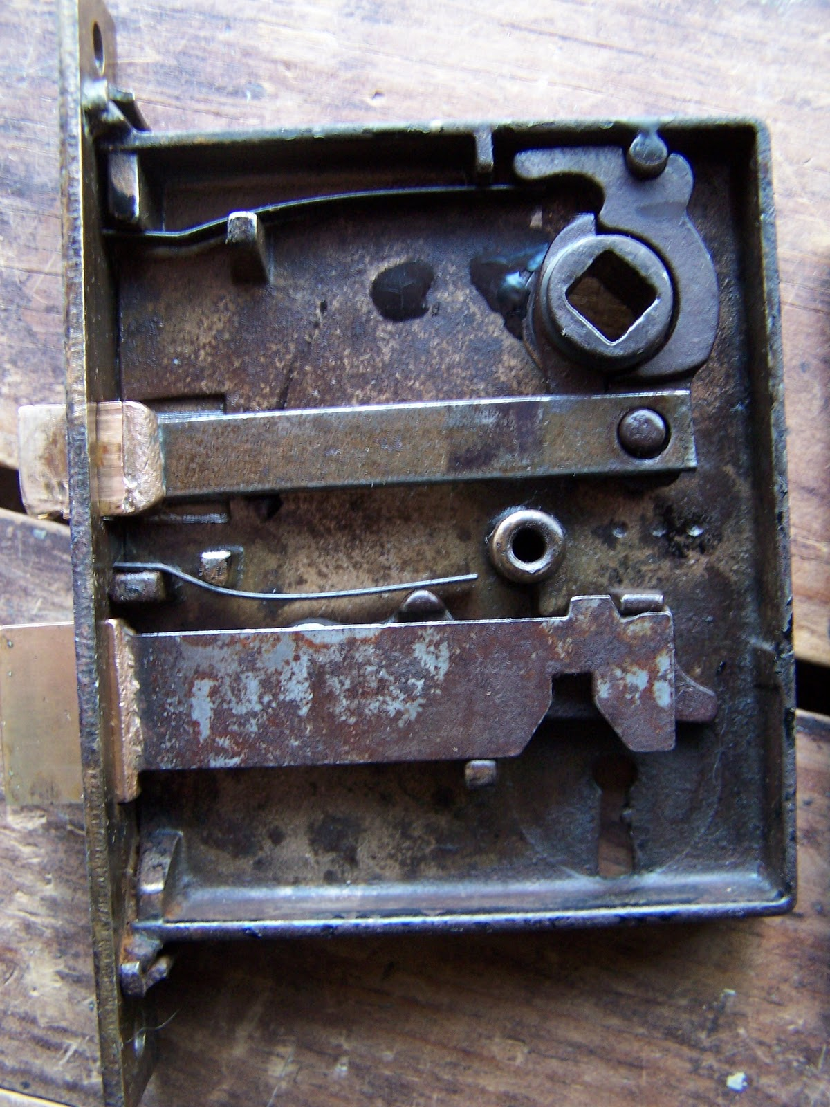 Antique Mortise Door Lock Furniture - Antique Mortise Door Lock Repair - Image Antique And Candle