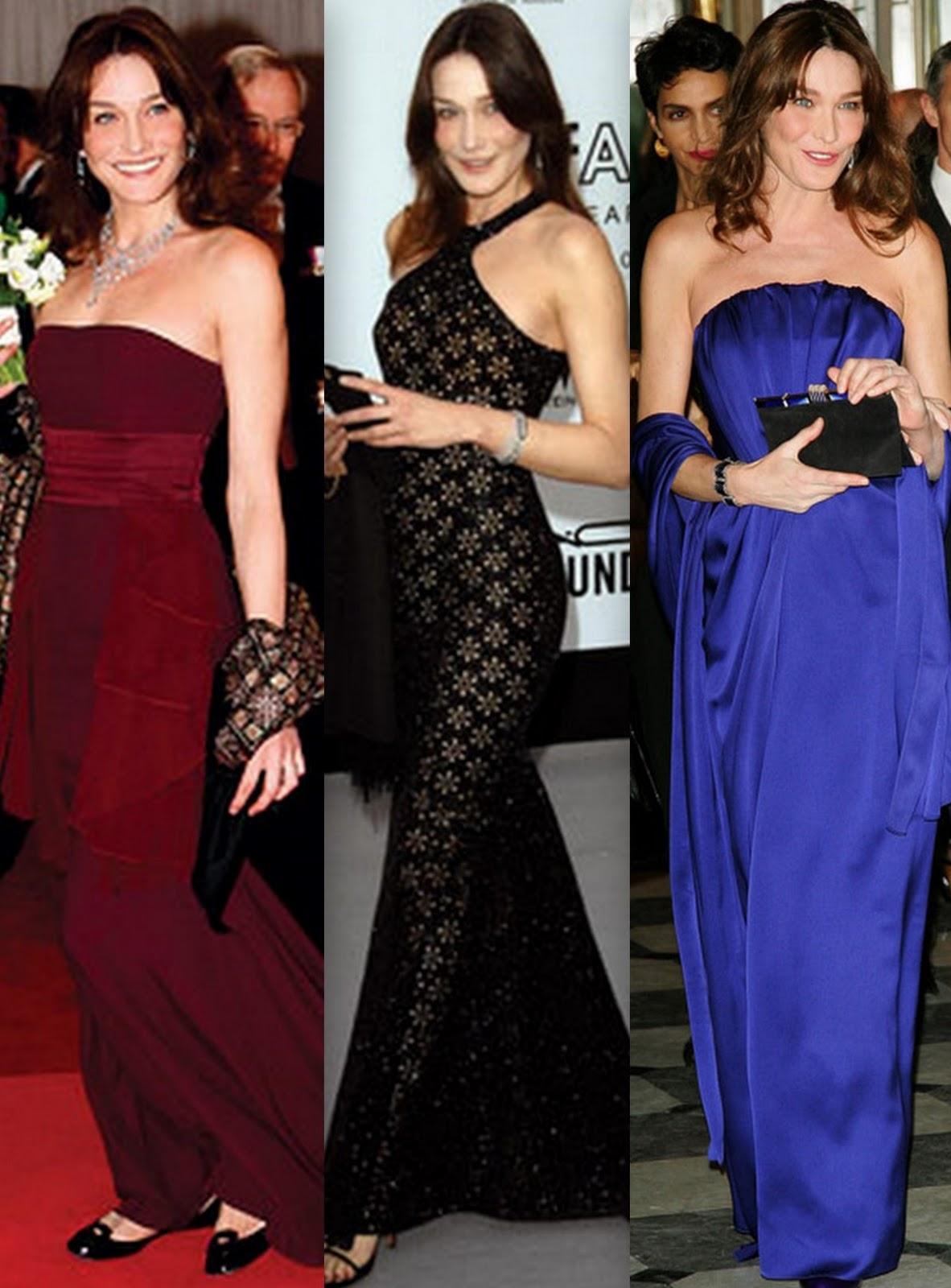 Ed Fadiel Carla Bruni Sarkozy Fashion Style