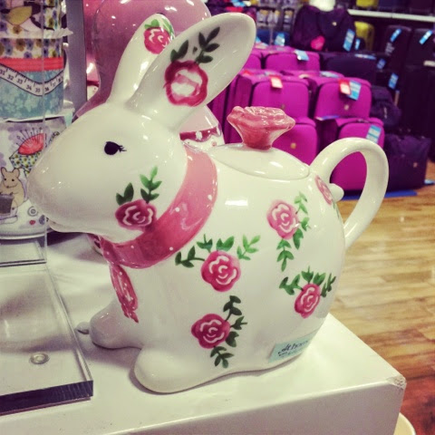 Little House Lovely  - Bunny Rabbit Teapot