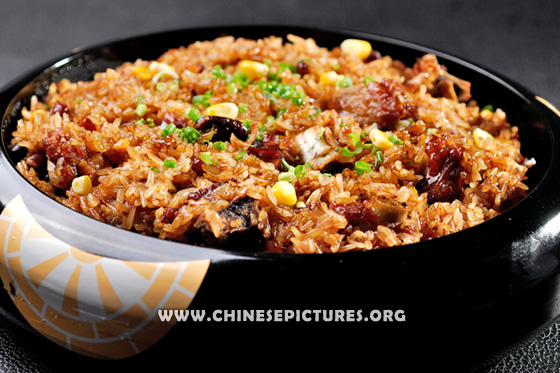 Steamed Spare Ribs with Rice Photo