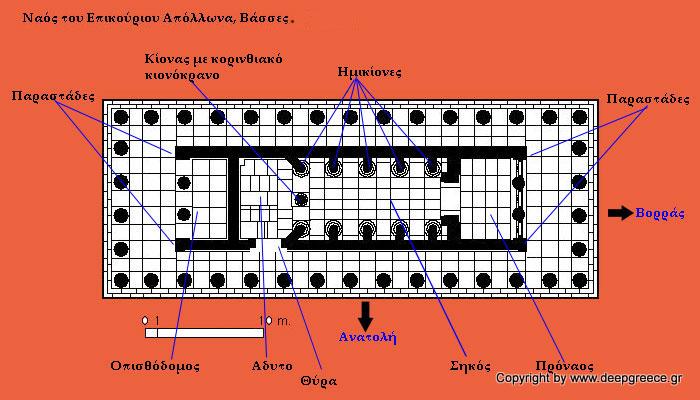 temple of epicurean apollo deepgreece