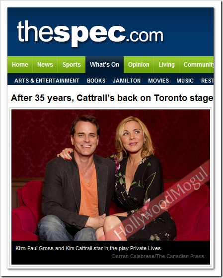 KimCattrall_PaulGross_PrivateLives_Toronto2011