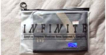 My Seoul Obsession: Infinite Comeback Slogan Towel Reviews
