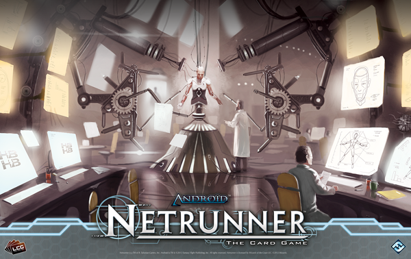 Project Vitruvius haas Bioroid Fast Advance Fantasy Flight games Netrunner Crying Grumpies