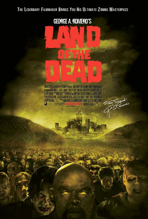 Poster Of Land of the Dead (2005) Full Movie Hindi Dubbed Free Download Watch Online At Alldownloads4u.Com