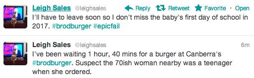 leigh sales tweets