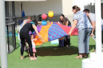 LePort School Parent/Child Montessori  - mommies playing with their children outdoors