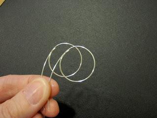Profile of hoop.
