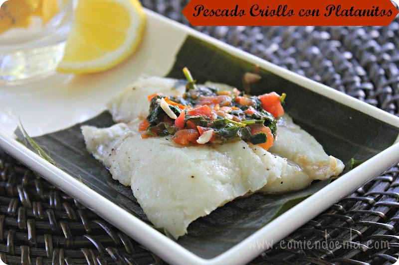 Pescado Criollo con Salsa de Hogao