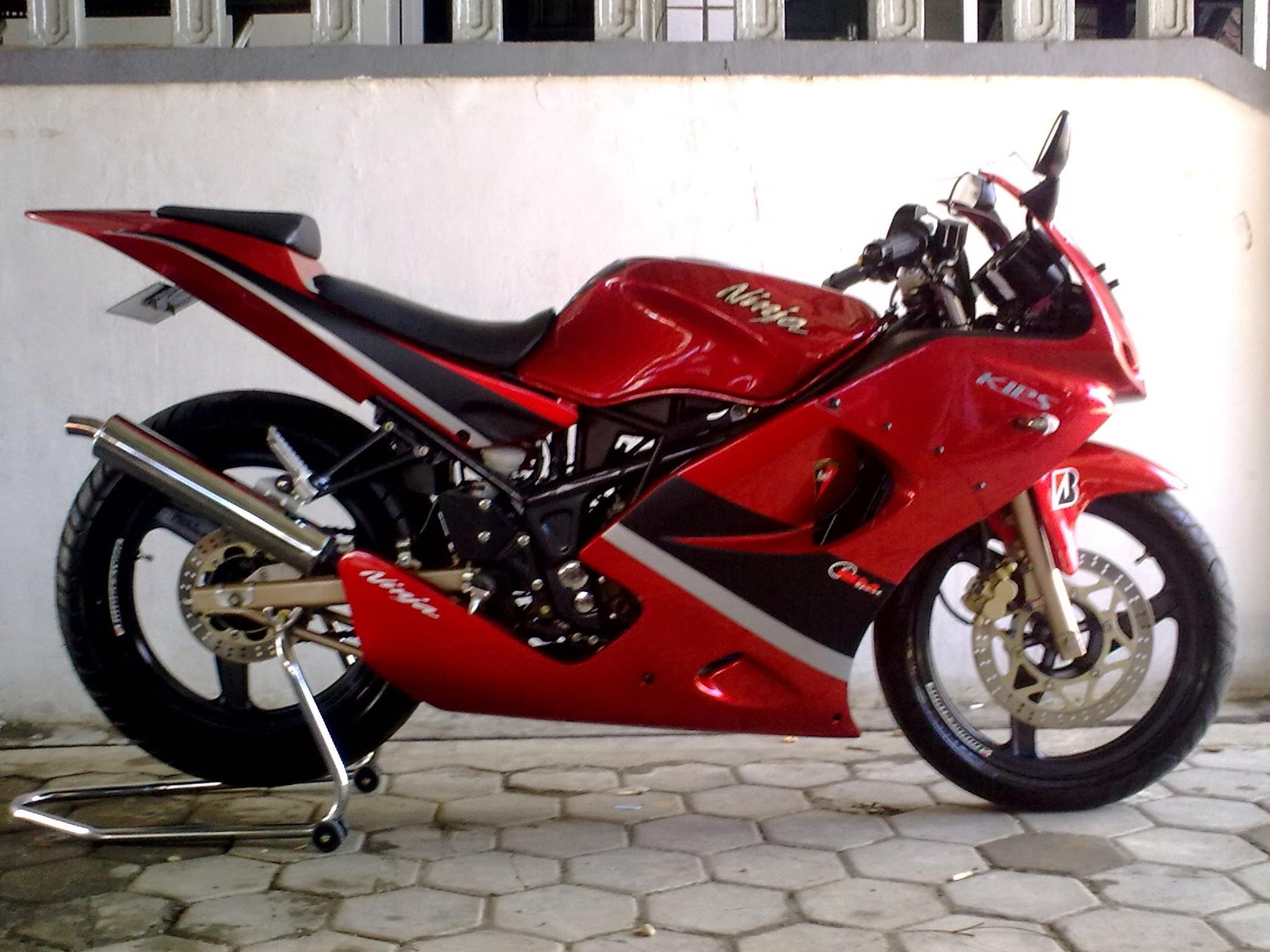 modifikasi ninja 150 r