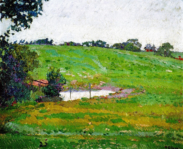 Harold Gilman - Norwegion Landscape
