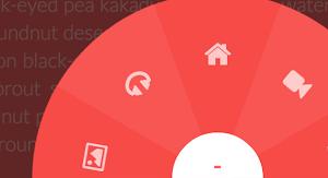 Làm menu tròn quay vòng ! Building a Circular Navigation with CSS Transforms
