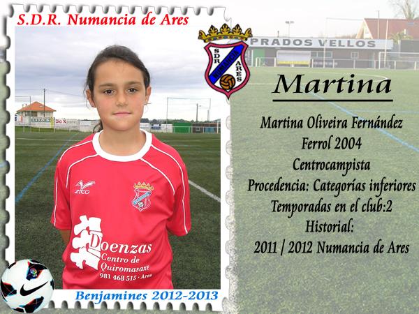 ADR Numancia de Ares. Martina.