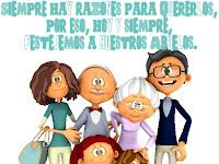 Tarjetitas con Frases para Los Abuelos en su día