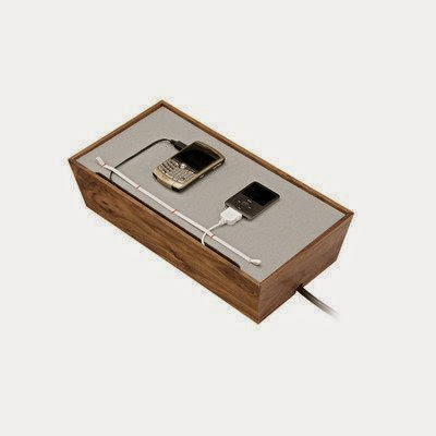 Juice Box Digital Dock in Walnut
