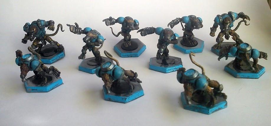 Mis equipos de DreadBall Ratas
