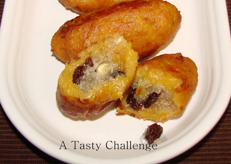 Unnakaya/ Fried Stuffed Plantains