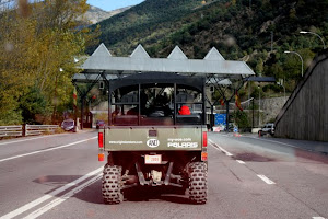 Andorra Border Crossing from Spain