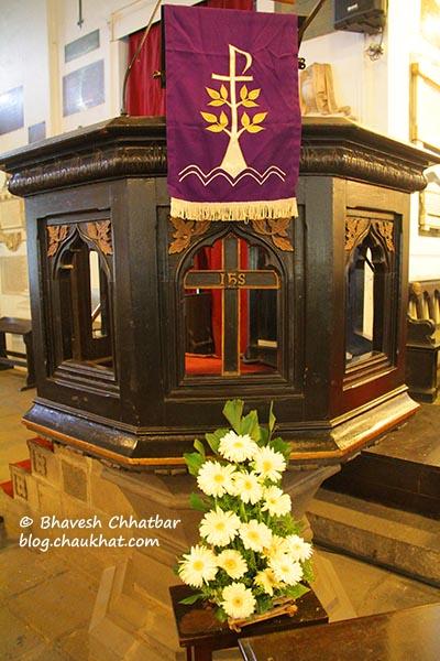 Inside St. Mary's Church, Pune