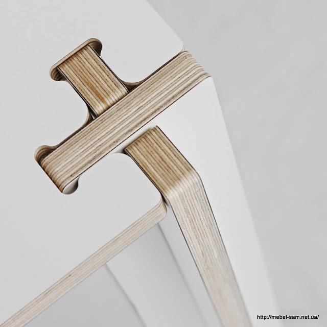 Стыковочный узел стола - все детали собираются паз в паз
