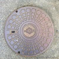 札幌市(+北電?)マンホール蓋「弱電」