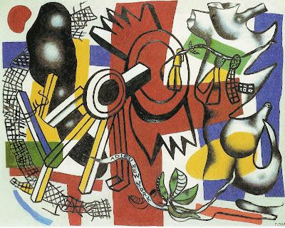 Fernand Léger - Adieu New York (1946)