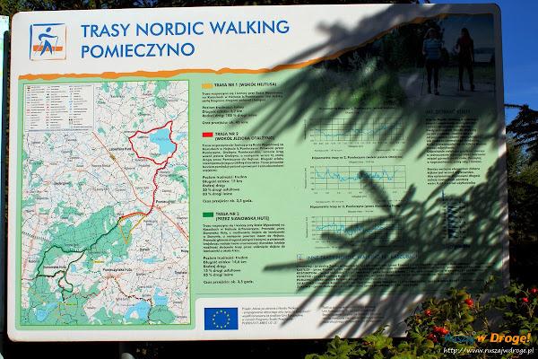 Nordic Walking na Kaszubach z Pomieczyna