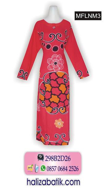 baju batik model terbaru, busana batik wanita, model baju terbaru