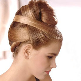 photos of hairstyle for parties and function