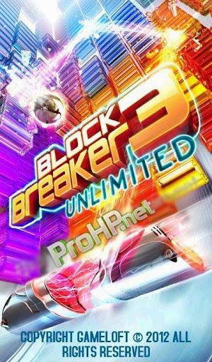 Block Breaker 3 Unlimited HD v1.0.2.2
