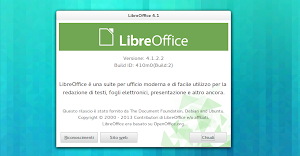 LibreOffice 4.1.2 in Ubuntu GNOME