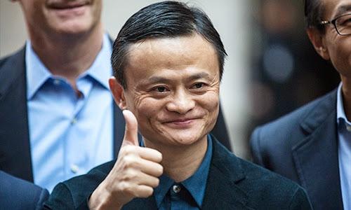 Jack Ma đã chính thức soán ngôi giàu nhất châu Á của Li Ka-shing. Ảnh: AFP
