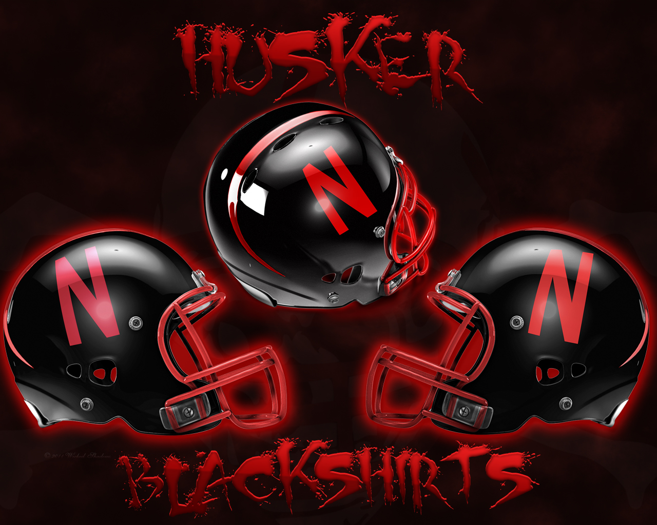 wallpapers by wicked shadows husker blackshirts black