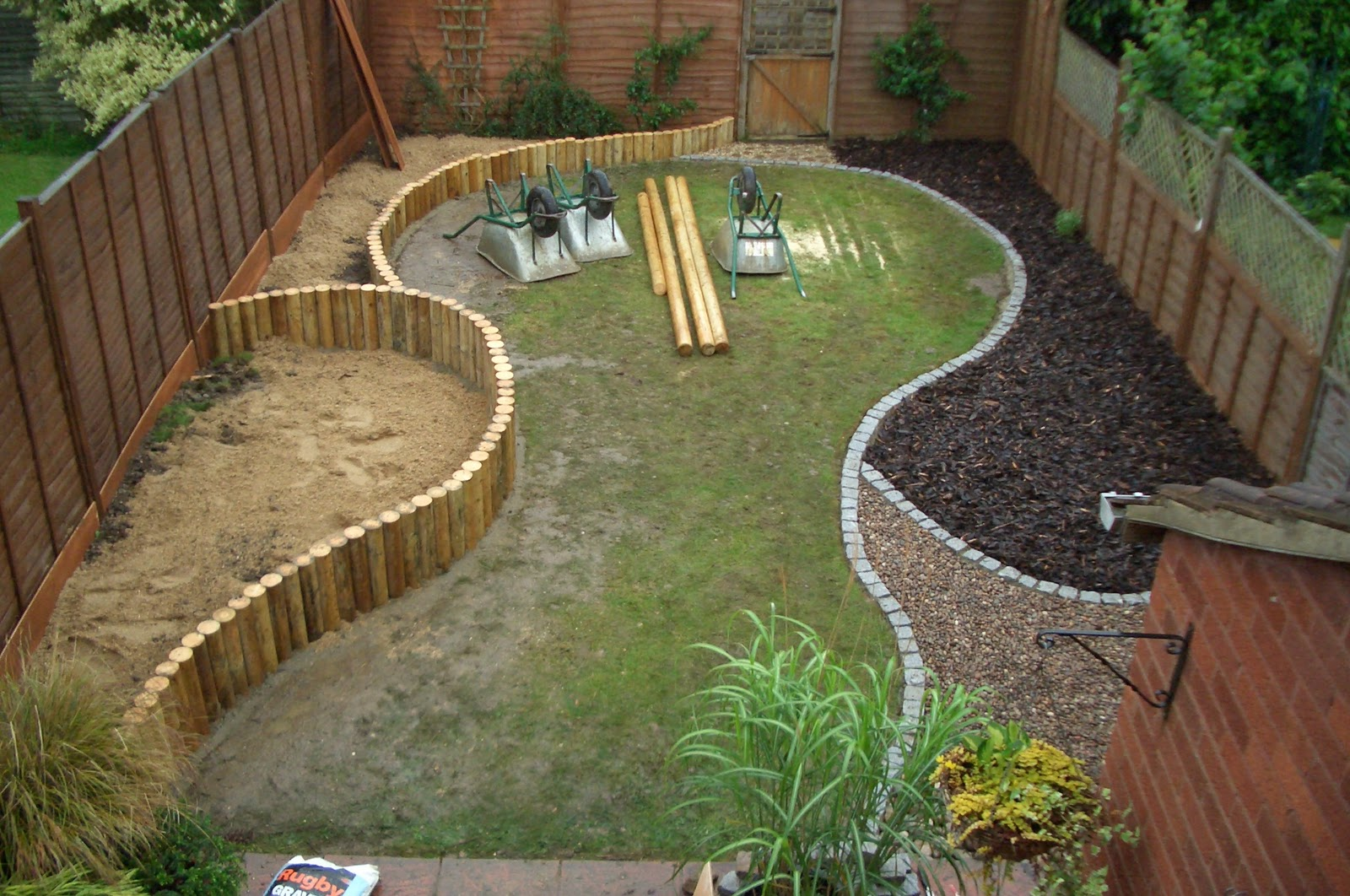 Changing the world one garden at a time for Step up garden designs