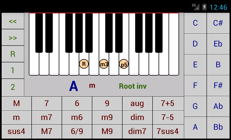 Dg Piano Chords Dg Android Applications
