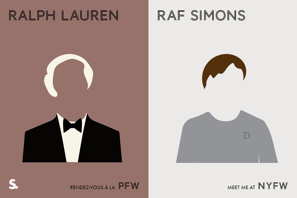 Image of Image of Paris VS New York Fashion Week Infographic 6