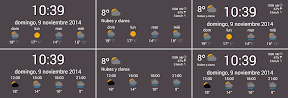 My-Weather-Indicator para Android se Widget-fica