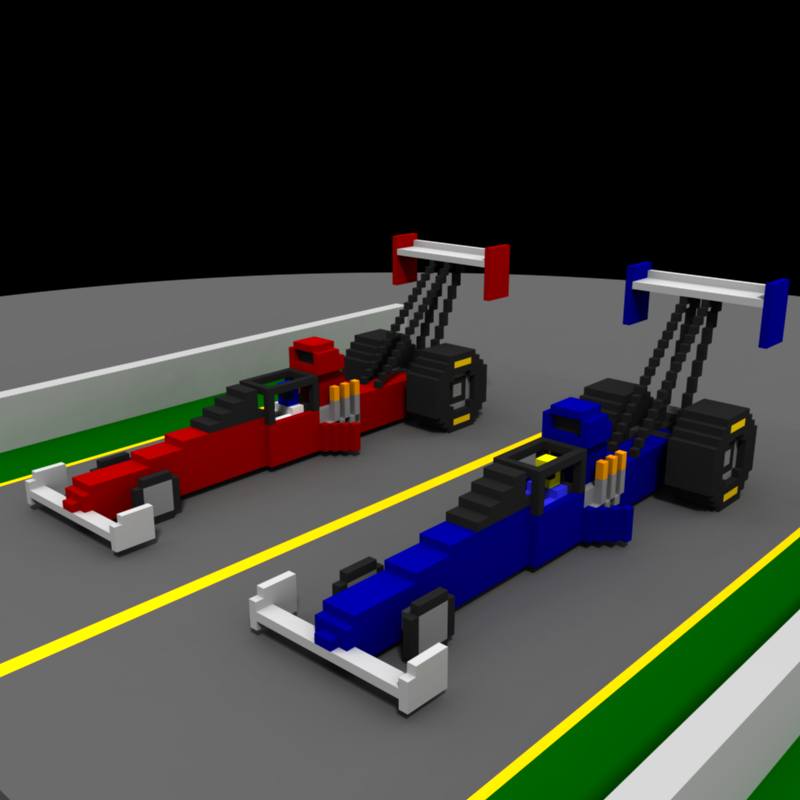 voxel drag race