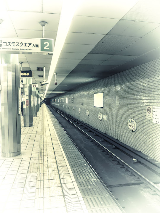Lines in the Subway, leading to the Singularity