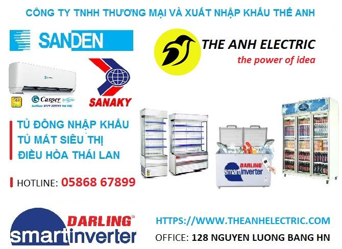 Điện máy Thế Anh - Giới thiệu công ty TNHH Thương mại và Xuất nhập khẩu Thế Anh